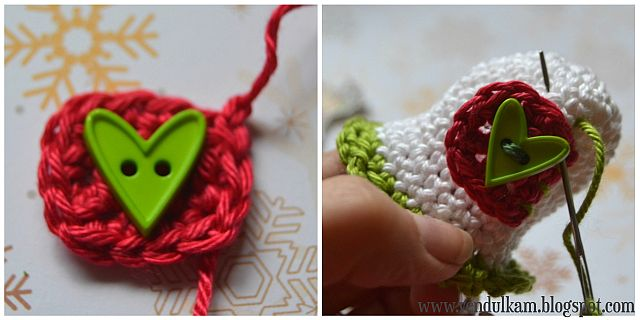 Christmas bell - free pattern by VendulkaM