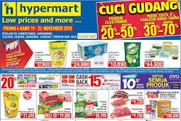 Katalog Promo Hypermart Weekday 19 - 22 November 2018