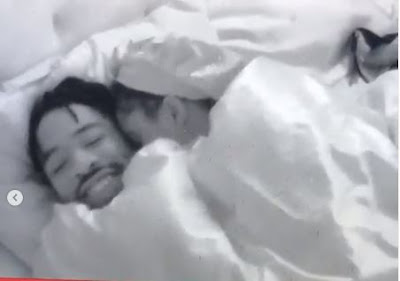 #BBNaija:  Mercy And Ike Were Caught Doing This Under The Duvet