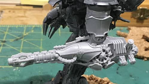 Adeptus Titanicus Warlord-Sinister Psi-Titan WIP