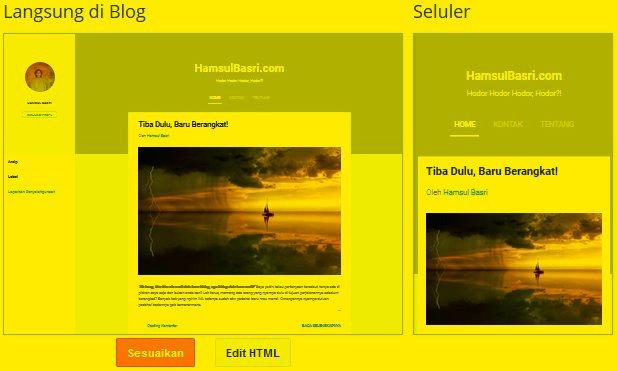 Bingung mau nyari kursus online membuat desain template blogspot sendiri, euy!