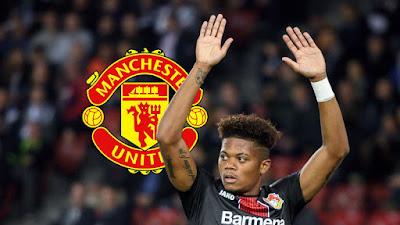Sợ mất Sancho, Manchester United chuyển hướng sang máy chạy của Leverkusen