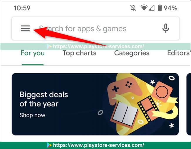 كيفية تعطيل تشغيل مقاطع الفيديو تلقائيًا في متجر Google Play على الأندرويد
