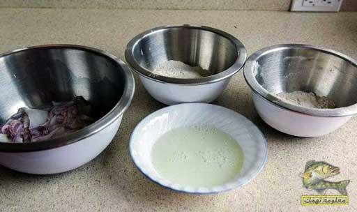 وصفة تحضير كاليمارى مقلي | الحبار المقلي