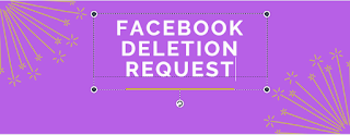facebook deletion request