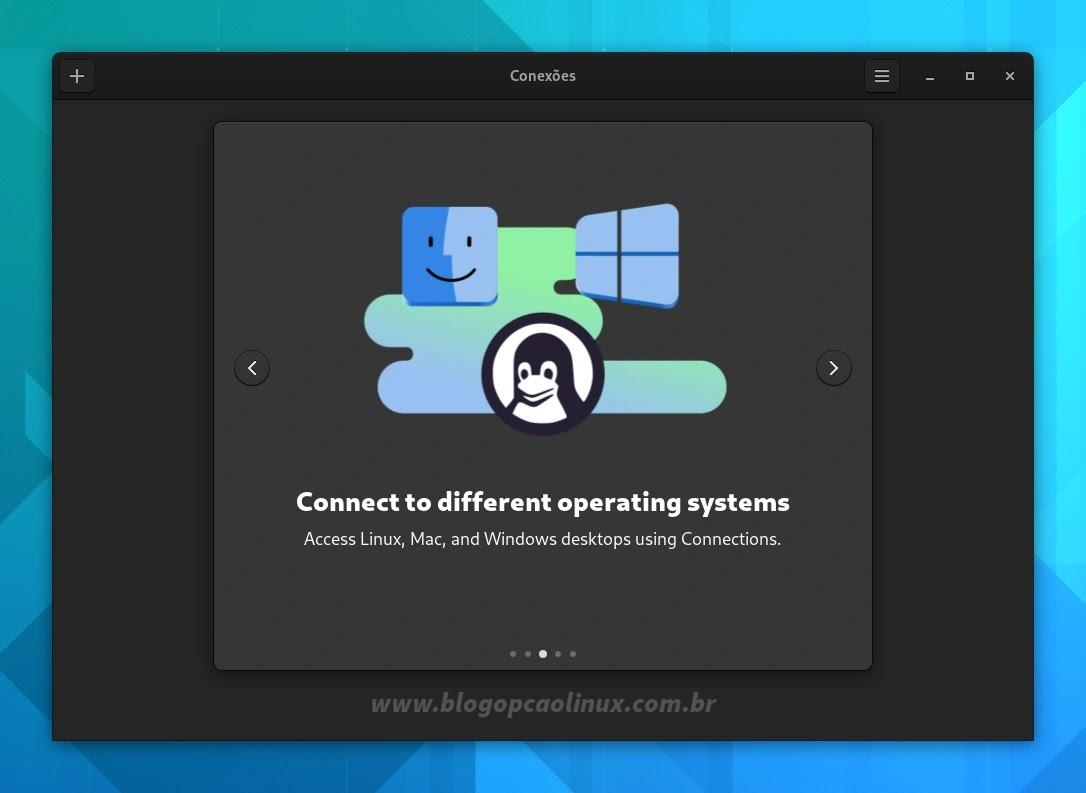 Novo aplicativo 'Conexões' incluído no GNOME 41