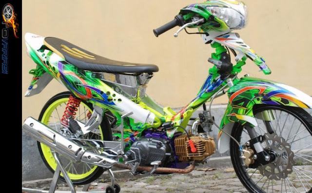 modifikasi dan harga motor yamaha jupiter z1