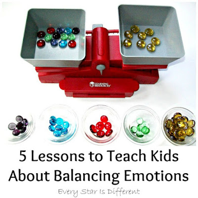 5 lessons to teach kids about balancing emotions.
