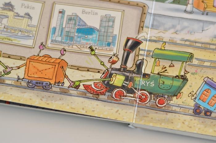 opowiem ci mamo, opowiem ci mamo co robią pociągi, nasze księgarnia, książka dla chłopców, książka dla 4latka, książka o pociągach