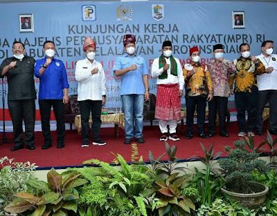 Bupati H.Zukri genap 39 hari menjabat sebagai Bupati Kabupaten Pelalawan Propinsi Riau