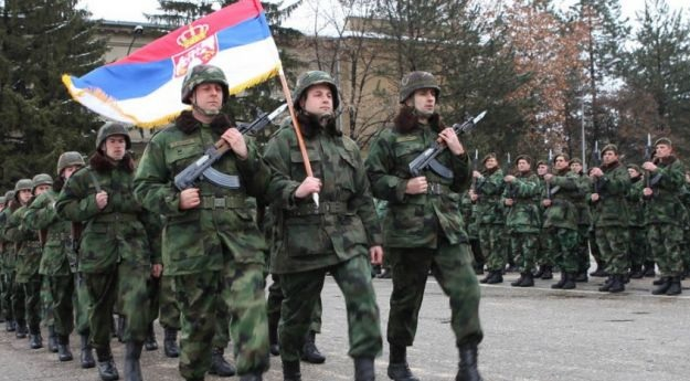 Serbia continues to keep the army in a state of readiness 'to fight' with Kosovo