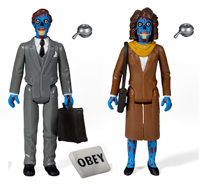 They Live ReAction Retro Action Figures by Super7