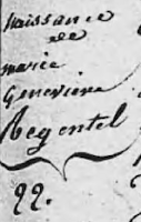 Marie Geneviève Régentel
