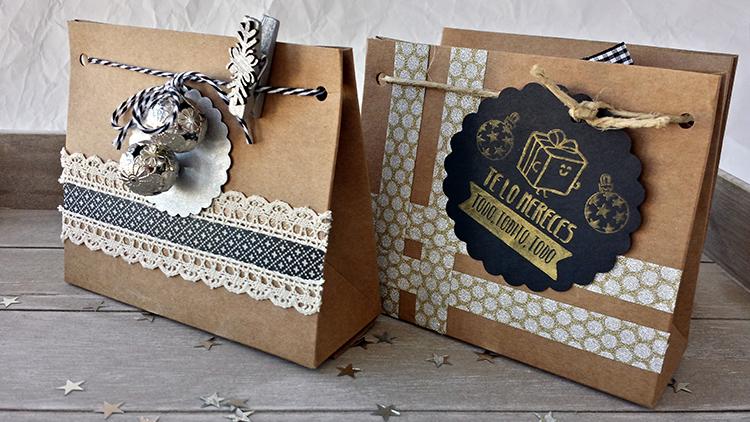 Ideas para empaquetado navideño