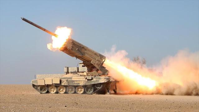 Ejército sirio destruye tres bases militares de grupos armados
