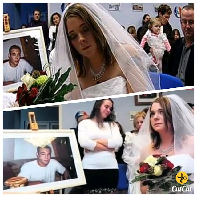 The girl's marriage to the dead.