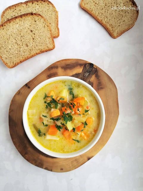 Zupa ziemniaczano - jarzynowa przepis