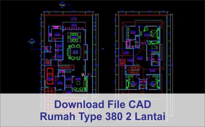 download rumah type 380 2 lantai