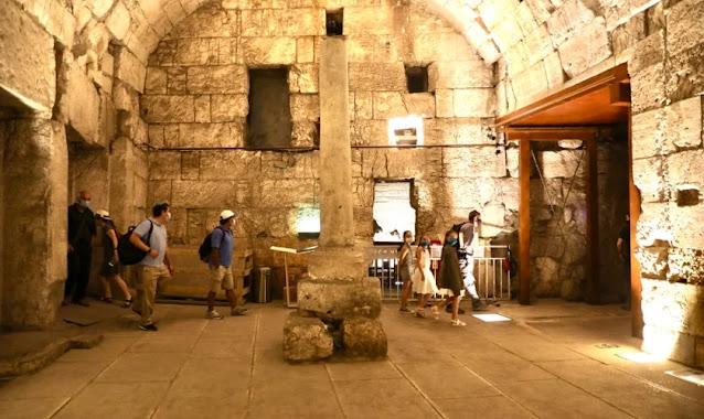 Edifício do período do Segundo Templo é encontrado no Muro das Lamentações