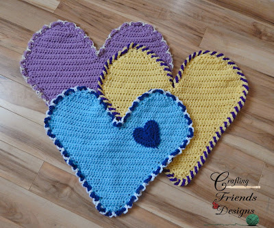 Free Heart Crochet Pattern