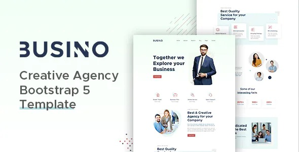 Best Creative Agency Bootstrap 5 Template