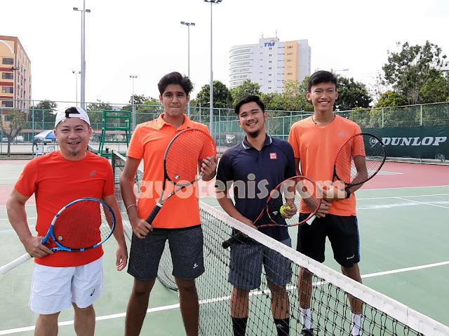 Hadapi PON XX/2020, Tenis Sumsel Siap TC ke Luar Negeri