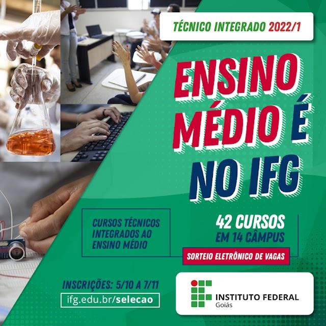 Câmpus Senador Canedo do IFG recebe inscrições para cursos técnicos integrados