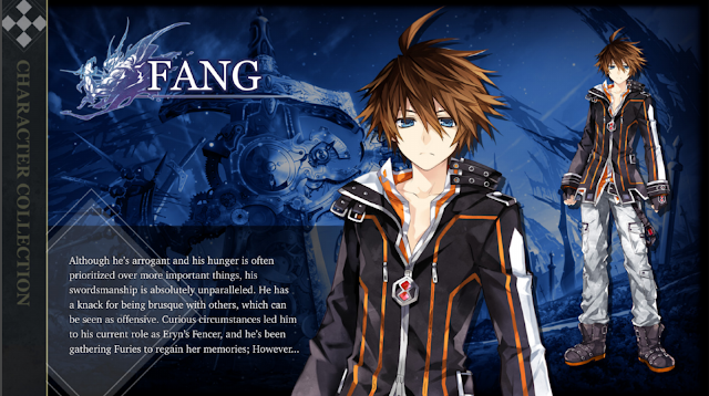 Fang the Protagonist in this game