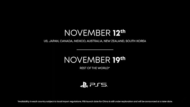 Sony Dedahkan Jualan PS5 Akan Bermula Pada 12 November Dengan Harga Bermula RM1658