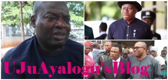 Mr Tony Nwoye, the APC candidate for the upcoming Anambra gubernatorial election has accused Goodluck Jonathan of selling him out to Peter Obi in 2013.