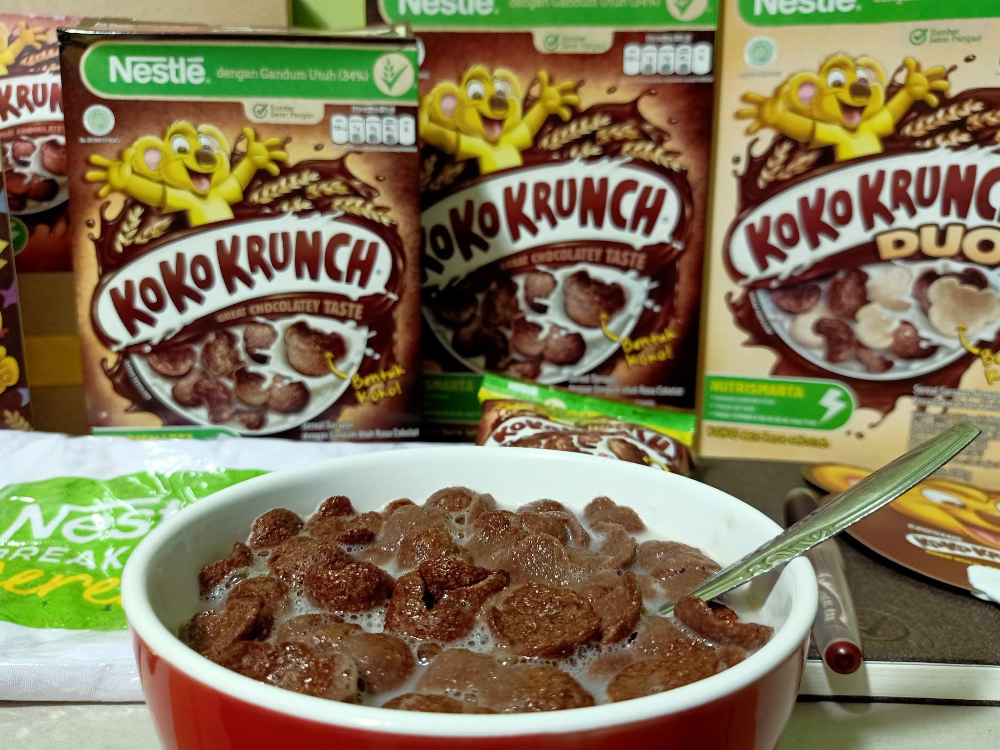 Sarapan sehat dan bernutrisi dengan Koko Krunch