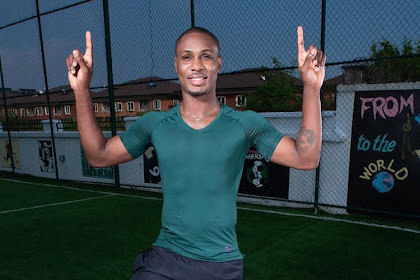 Nigerian Striker, Odion Ighalo, Makes History as He Signs For Manchester United