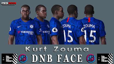 PES 2020 Faces Kurt Zouma by DNB