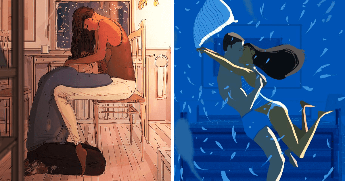 Artist Creates Soulful Illustrations Of His Everyday Life With His Wife