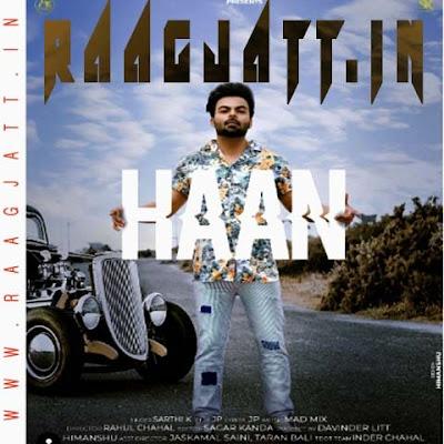 Haan by Sarthi K lyrics