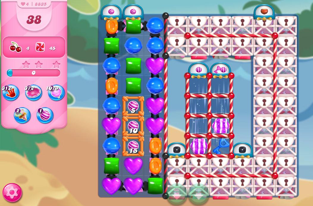 Candy Crush Saga level 8835