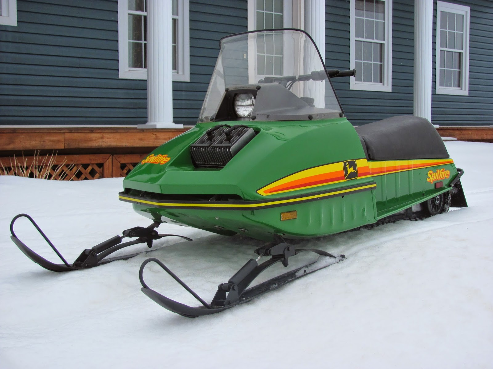 John Deere Spitfire Wiring Diagram : Classic snowmobiles of the past february