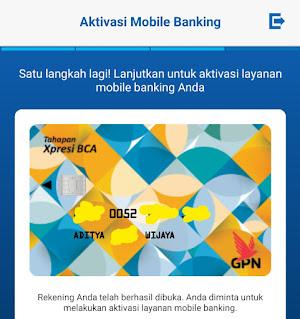 Kartu ATM Tahapan BCA Xpresi