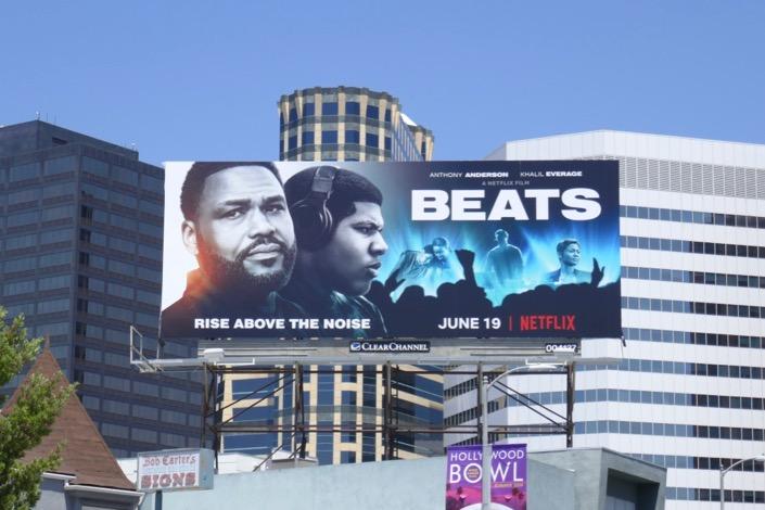 Beats Netflix film billboard