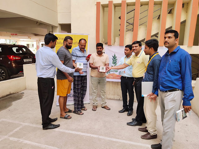 Equitas Small Finance Bank distributes plant saplings as part of 'World Environment Day' campaign