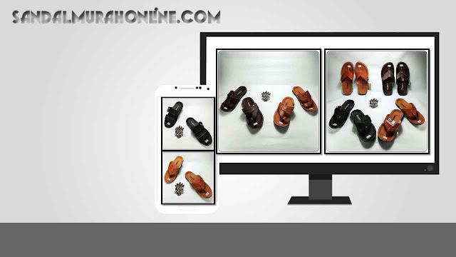 Grosir Online Sandal Pria Imitasi  Sandal CS Pria ELF