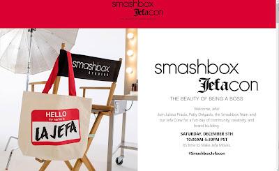 Smashbox, Smashbox Cosmetics, Jefacon, Digital Conference, Conference, Conferences, Latina, Latina Entrepreneurs, Boss Lady, Jefa Mindset, Empowerment