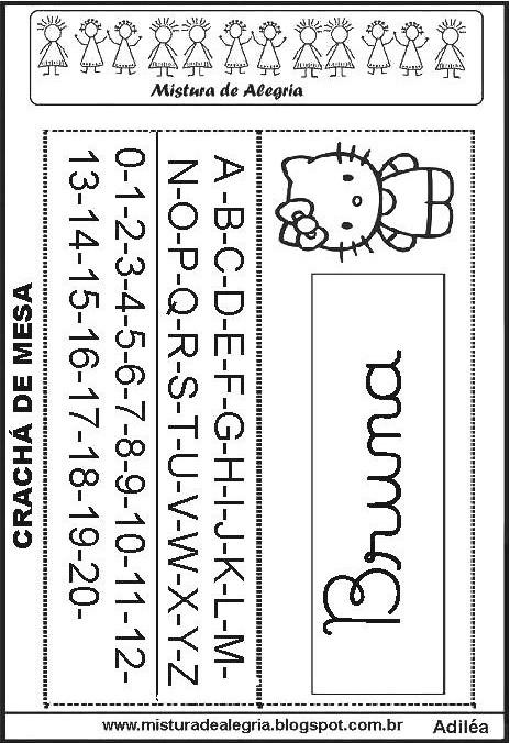 crach u00c1s para mesa para imprimir  recortar e colorir