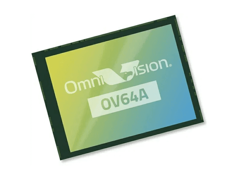 OmniVision OV64A 64MP sensor with 1-micron-sized pixel announced!
