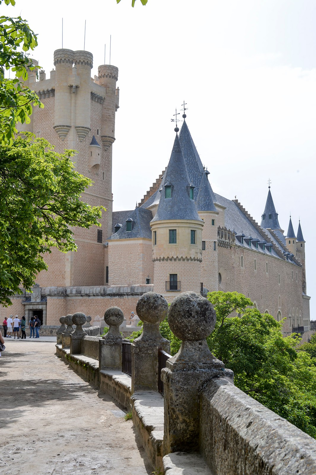 Unesco World Heritage Alcazar Segovia travel guide weekend Spain