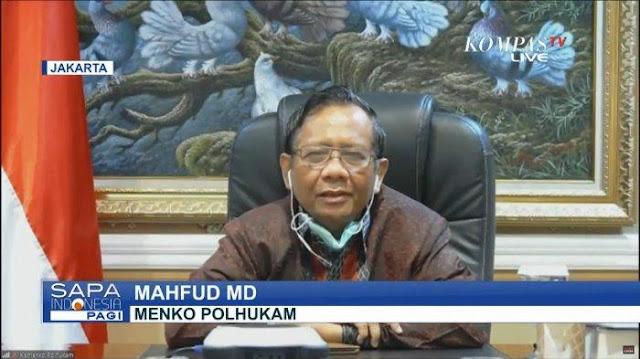 Menko Polhukam Mahfud MD