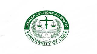 Shaheed Zulfikar Ali Bhutto University of LAW Latest Jobs Advertisement in Pakistan Jobs 2021