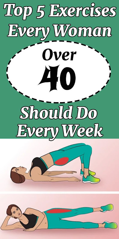 Top 5 Exercises For Women Over 40 Should Do Every Week
