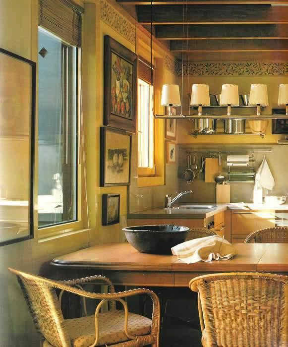 Hogares frescos dise os de cocinas estilo office for Cocina comedor integrados