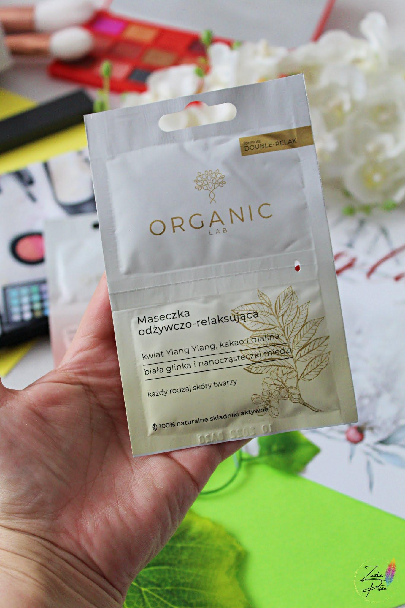 Organic Lab Maseczka odżywczo-relaksująca